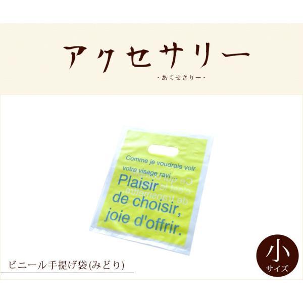ビニール手提げ袋(みどり)ー小LZ|chinagrand|02