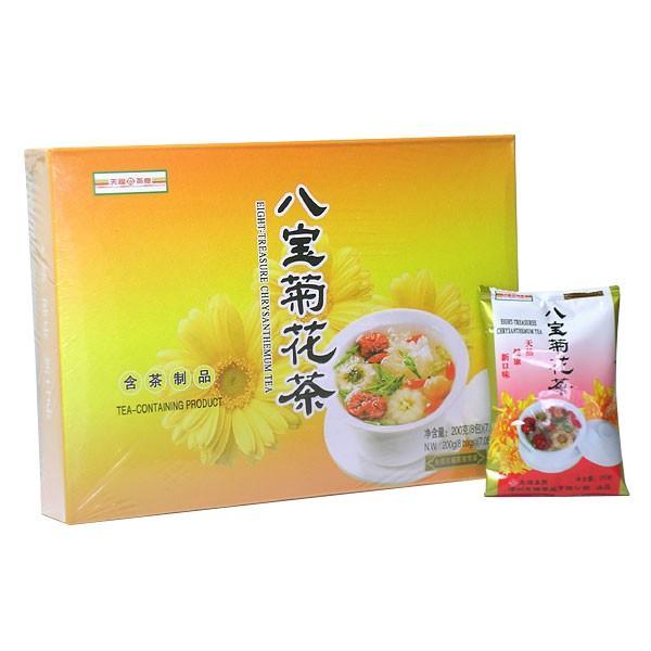 八宝茶 天福 40袋【中国茶葉 花茶】