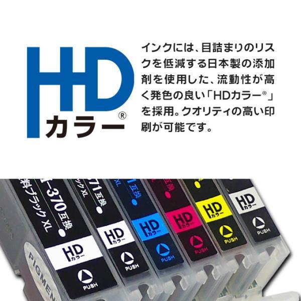 キャノン プリンターインク BC-310+BC-311 ブラック 単品+カラー 単品 再生インク (あすつく) bc310 bc311 chips 04