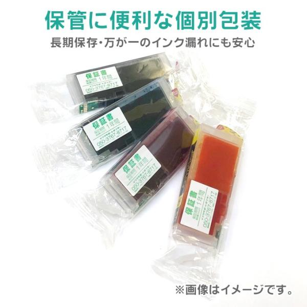 RDH-4CL + RDH-BK-L(リコーダー)エプソン プリンターインク rdh インク 4色セット+黒1本 互換インクカートリッジ PX-048A PX-049A インク|chips|06