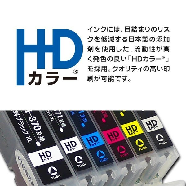 SAT-6CL 互換(サツマイモ) 6色×2セット  エプソンインクカートリッジ互換 EP-712A EP-812A エプソン プリンターインク|chips|04