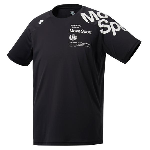 デサント ウォーターブロック Tシャツ DMMNJA50 メンズ 2019SS スポーツ トレーニング ゆうパケット(メール便)対応  2019最新 2019春夏|chispo-b|03