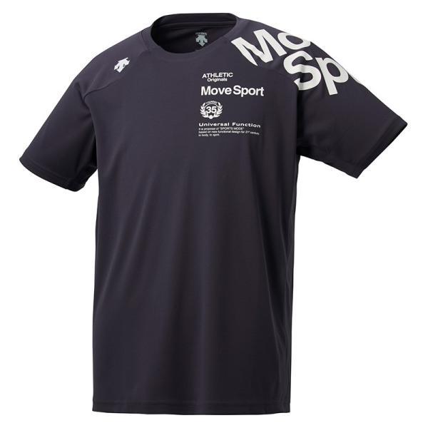 デサント ウォーターブロック Tシャツ DMMNJA50 メンズ 2019SS スポーツ トレーニング ゆうパケット(メール便)対応  2019最新 2019春夏|chispo-b|06