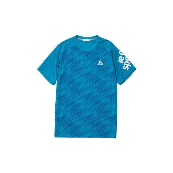 ルコックスポルティフ 半袖シャツ Tシャツ QMMNJA08 メンズ 2019SS スポーツ トレーニング ゆうパケット(メール便)対応|chispo-b|03