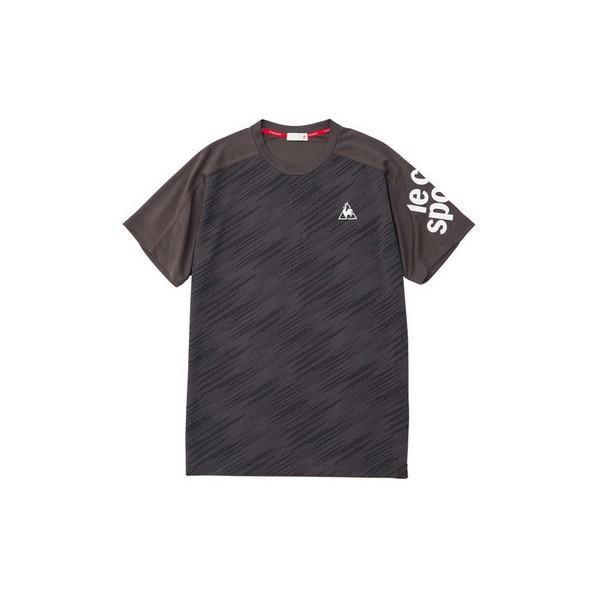 ルコックスポルティフ 半袖シャツ Tシャツ QMMNJA08 メンズ 2019SS スポーツ トレーニング ゆうパケット(メール便)対応|chispo-b|04
