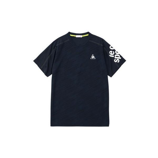 ルコックスポルティフ 半袖シャツ Tシャツ QMMNJA08 メンズ 2019SS スポーツ トレーニング ゆうパケット(メール便)対応|chispo-b|05