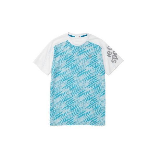 ルコックスポルティフ 半袖シャツ Tシャツ QMMNJA08 メンズ 2019SS スポーツ トレーニング ゆうパケット(メール便)対応|chispo-b|06