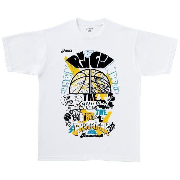 アシックス プリントTシャツHS XB928N メンズ 2013 バスケットボール 返品・交換不可 アウトレット wearsale  ゆうパケット(メール便)対応|chispo|02