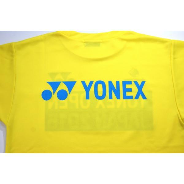 ヨネックス オープンジャパン2015記念Tシャツ(ユニセックス) YOB15305 バドミントンウエア 在庫品|chispo|02