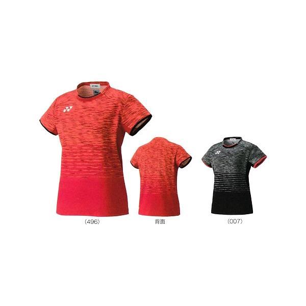 ヨネックスフィットシャツ 20386バドミントン ウエア ユニフォーム 日本代表モデル レディース YONEX 2017年秋冬モデルゆうパケット(メール便)対応