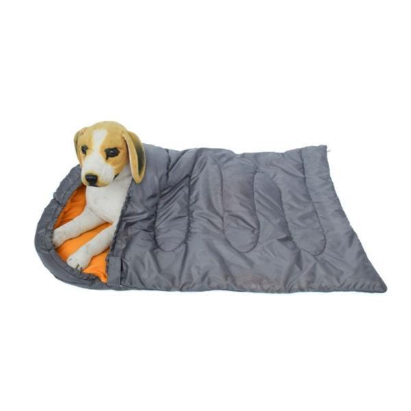 ペット用寝袋  犬 猫 ペットベッド ペット用品 ペットベッド 犬小屋 寝袋 アウトドア 四季通用 防水 柔らかい おしゃれ