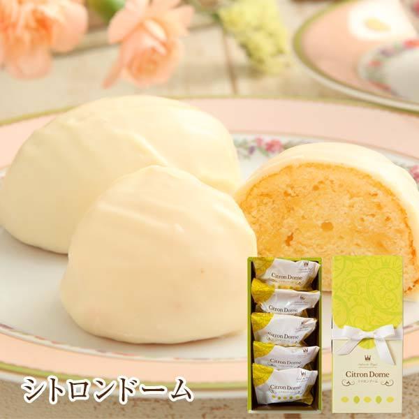 お菓子詰め合わせお礼プチギフト贈り物スイーツ洋菓子手土産セット/シトロンドーム(5個/箱)