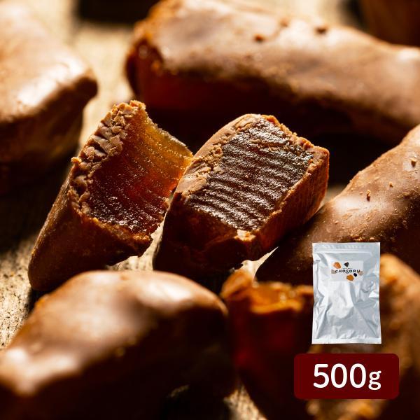 アップルチョコレート ミルク 500g りんご フルーツチョコ 業務用