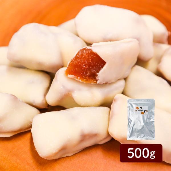 アップルチョコレート ホワイト500g りんご フルーツチョコ 業務用