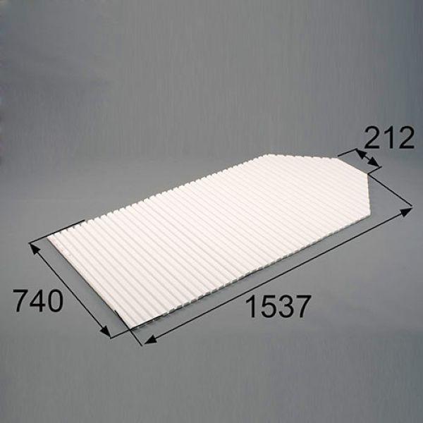 RGFZ101 送料込み LIXIL リクシル トステム 浴室(バスルーム) 風呂フタ 巻きフタ 切欠型 浴槽巻きフタ RGFZ101