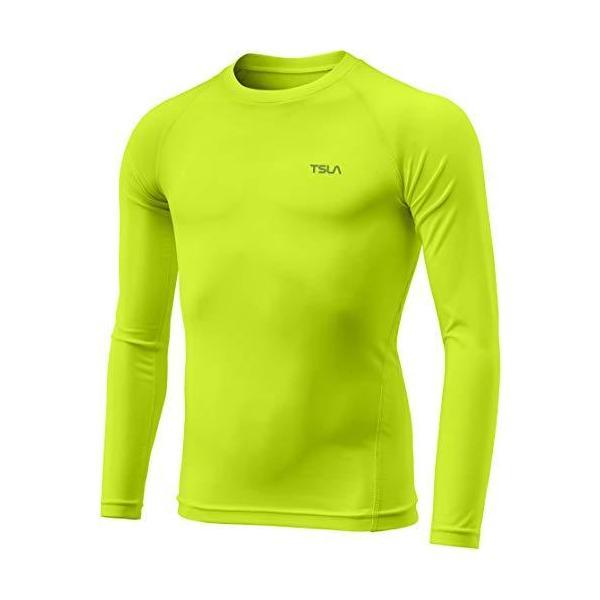 (テスラ)TESLAキッズコンプレッションシャツ長袖コンプレッションウェアスポーツウェア冷感インナー UVカット・吸汗速乾 ジュ