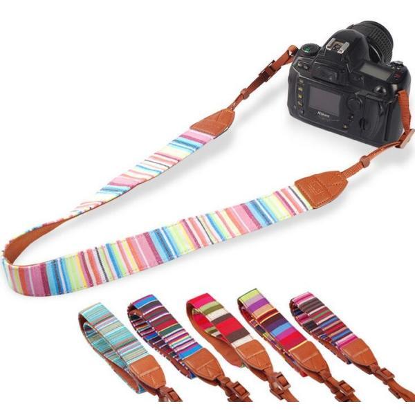デジタルカメラ/一眼レフカメラ用カメラストラップ/斜めがけ/Nikon D810/CANON EOS 7D/SONY α6000用カメラストラップ