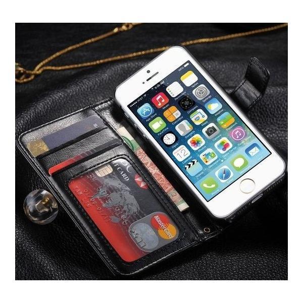 iPhone5/iPhone5s/iPhone SE/iPhoneSEレザーケース 手帳型/カバー カード収納/ダイアリーケース/スタンド機能付き|chokuten-shop|02