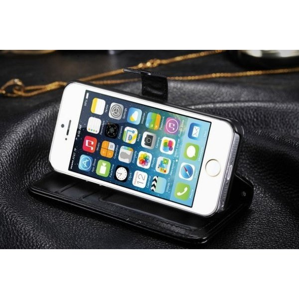 iPhone5/iPhone5s/iPhone SE/iPhoneSEレザーケース 手帳型/カバー カード収納/ダイアリーケース/スタンド機能付き|chokuten-shop|03