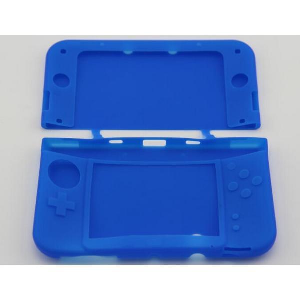 ニンテンドー New 3DS LL本体シリコンケース 汚れ、キズから保護する新着|chokuten-shop|02