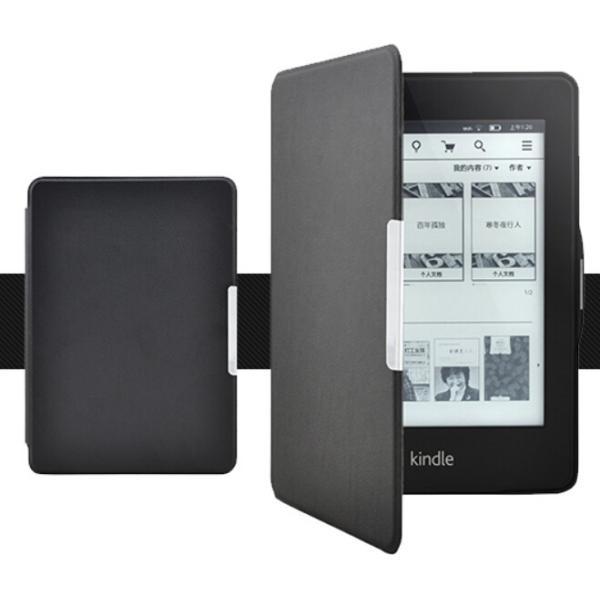 kindle Paperwhite1/2/3兼用手帳型レザーケース/電子書用カバー/手帳軽量カバー/手軽に装着/マグネット|chokuten-shop|05