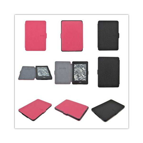 kindle Paperwhite1/2/3兼用手帳型レザーケース/電子書用カバー/Kindle Paperwhite マンガモデル対応/手軽に装着/薄型軽量両面カバー|chokuten-shop|03