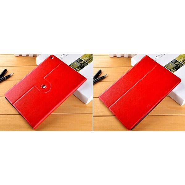 iPad Air 2 手帳型 PUレザーケース 360度回転 超薄型軽量カバー360度回転スタンド付 縦置きも横置きも可横開き回転 ビジネス 高級感保護カバー