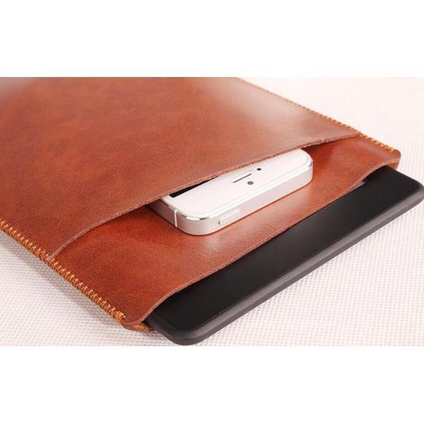 Amazon Kindle Paperwhite 第10世代用Kindle Paperwhite1/2/3/5/6/7マンガモデル用レザーケース/電子書収納バッグポーチ/キンドルペーパーカバーバッグ手帳軽量|chokuten-shop|03