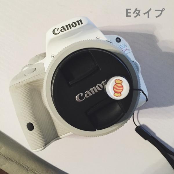 カメラレンズキャップ紛失防止!カメラキャップストラップ/キャップホルダー/一眼レフ、ミラーレス用レンズ対応/レンズキャップ紛失防止/レンズアクセサリ