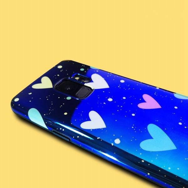 高級感あるGALAXY Note8 S9+/S9 S8+/S8 S7edge用ハード柄 スター柄 保護用背面カバー/グラデーションカラー/質感 軽量 薄型