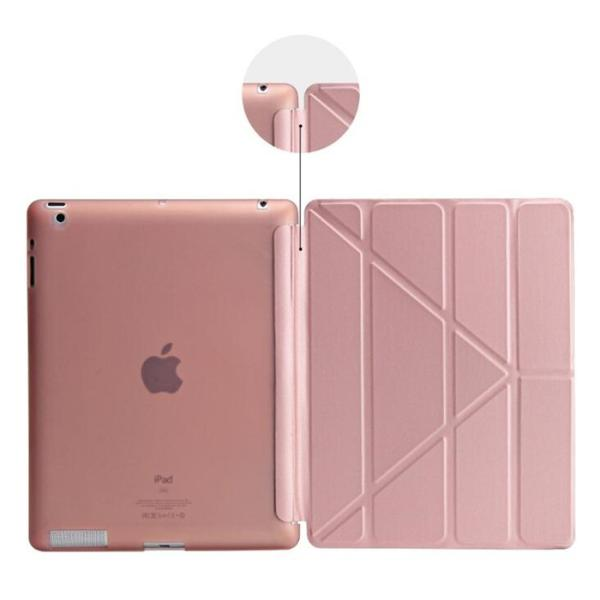 iPad mini 5/mini 4通用手帳型レザーケース 保護カバー 背面半透明 横開き スタンドカバー 軽量 薄型 スマートカバー 自動スリープ