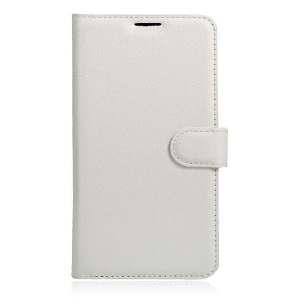 ASUS Zenfone Go ZB500KL用手帳型レザーケース 背面カバー スタンド機能 カード収納付き 高級PUレザー スマホケース 軽量薄型