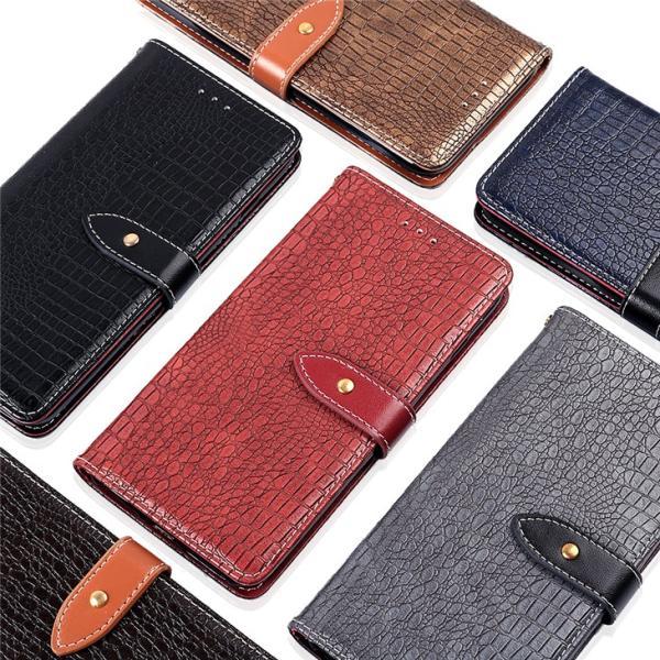 ASUS ZenFone4 MAX ZC520KL用手帳型レザーケース カード収納付き ポケット付き 財布型保護カバー マグネット横開き スタンドカバー