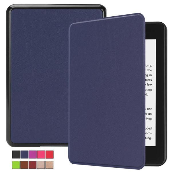 2018モデル Kindle Paperwhite4 7.0インチ用手帳型レザーケース 電子書 自動スリーブ 横開き|chokuten-shop
