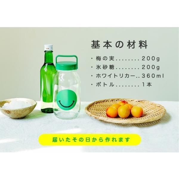 梅酒 手作り セット 瓶 梅酒用の梅|chokyuan|07