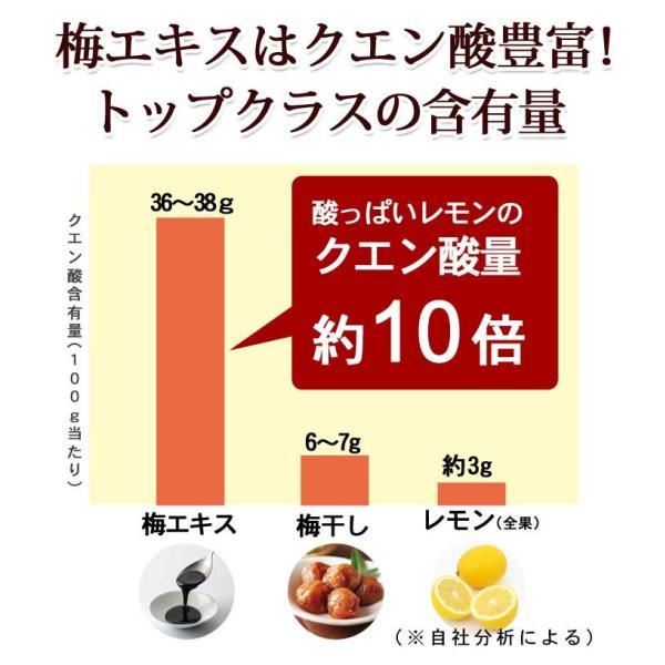 梅エキス ゼリー お試し 5日分 クエン酸 手軽 梅肉エキス|chokyuan|05