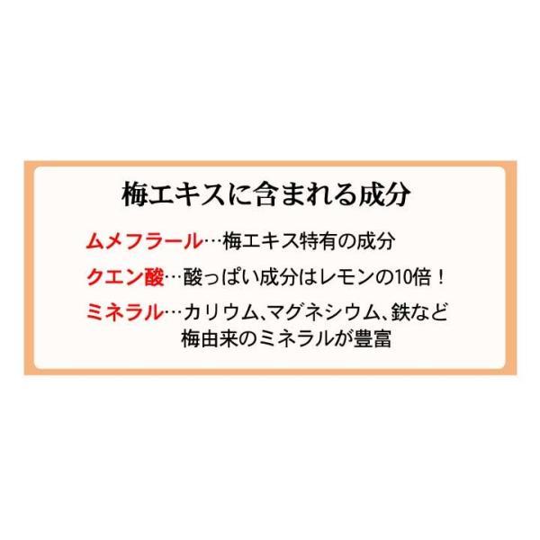 梅エキス ゼリー お試し 5日分 クエン酸 手軽 梅肉エキス|chokyuan|08