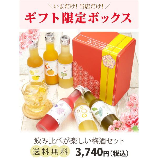 梅酒 プレゼント お酒 飲み比べ  送料無料 chokyuan 02