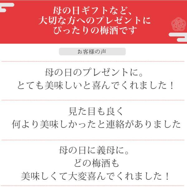 梅酒 プレゼント お酒 飲み比べ  送料無料 chokyuan 04
