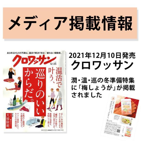 しょうが ショウガオール あさイチ サプリ 温活 梅肉エキス 梅しょうが|chokyuan|04