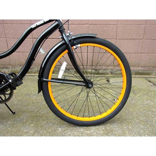 ビーチクルーザー サンタクルーズ ブラック 自転車 BEACH CRUISER SANTA CRUZ BLACK|choppers|05