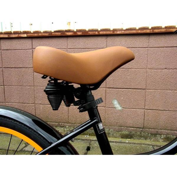 ビーチクルーザー サンタクルーズ ブラック 自転車 BEACH CRUISER SANTA CRUZ BLACK|choppers|06