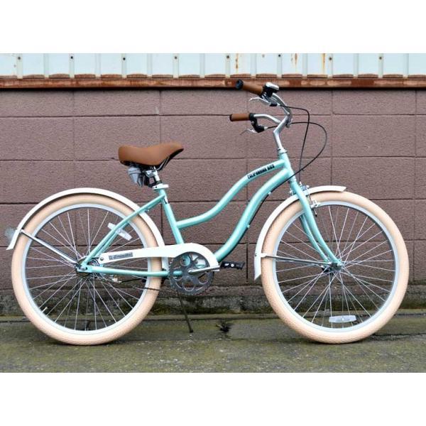 ビーチクルーザー サンタクルーズ サックス ブルー 自転車 BEACH CRUISER SANTA CRUZ SAX BLUE|choppers