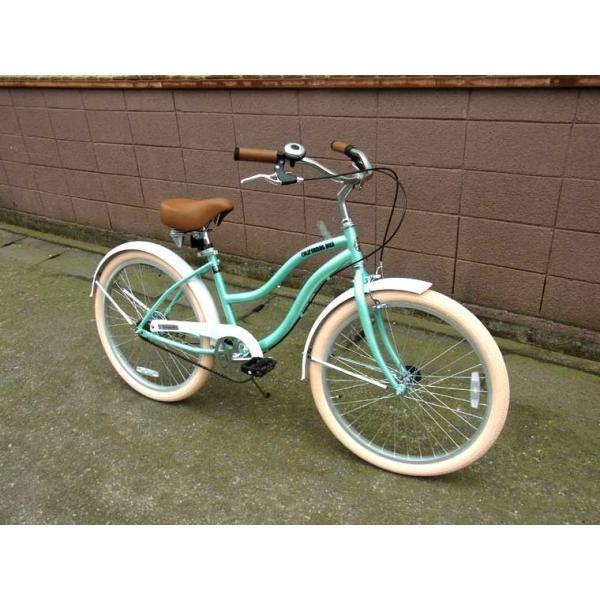 ビーチクルーザー サンタクルーズ サックス ブルー 自転車 BEACH CRUISER SANTA CRUZ SAX BLUE|choppers|06