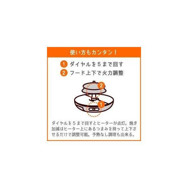 ザイグル 煙の出ない焼肉 ホットプレート 無煙赤外線 ロースター JAPAN-ZAIGLE choro 12