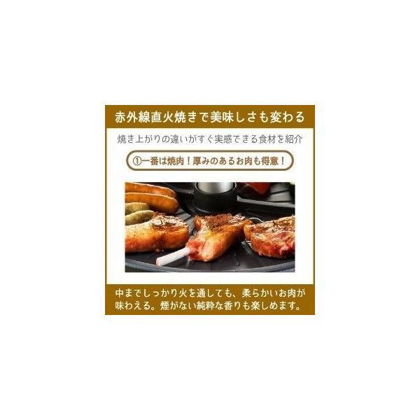 ザイグル 煙の出ない焼肉 ホットプレート 無煙赤外線 ロースター JAPAN-ZAIGLE choro 08
