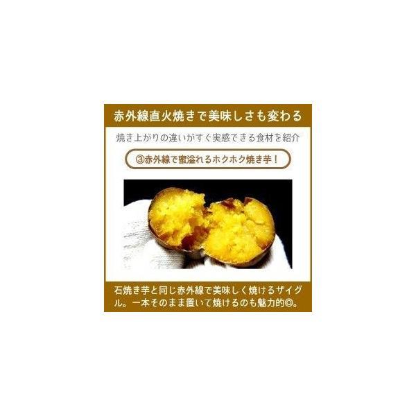 ザイグル 煙の出ない焼肉 ホットプレート 無煙赤外線 ロースター JAPAN-ZAIGLE choro 10