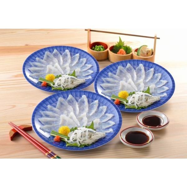 とらふぐ刺身小皿セット(約3人前) 国産 送料無料 産地直送 ギフト お取り寄せ|choshuen-y|02