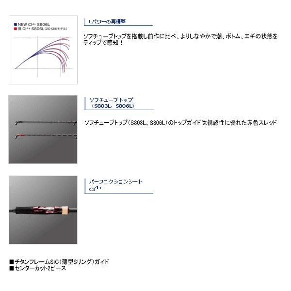 ≪'17年6月新商品!≫ シマノ '17 セフィア CI4+ S806ML 〔仕舞寸法 132.9cm〕 【保証書付】