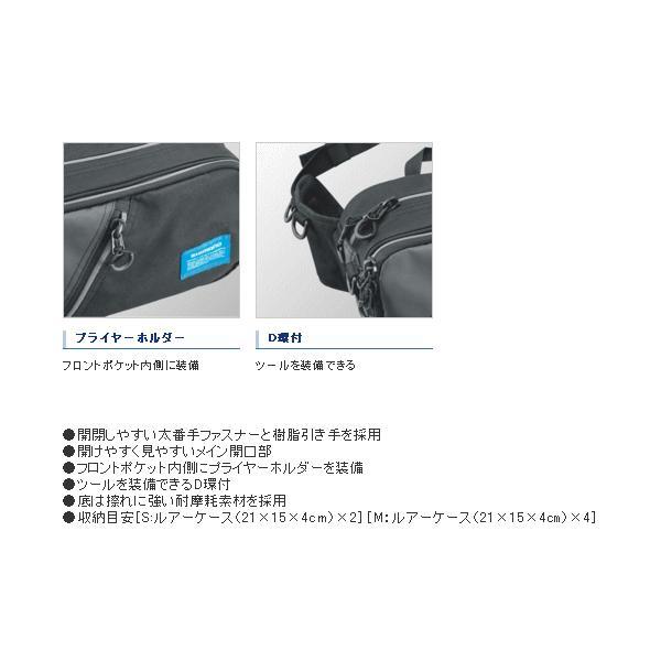 ≪'18年3月新商品!≫ シマノ ヒップバッグ WB-021Q メランジベージュ Mサイズ